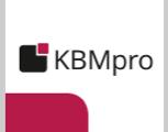 KBMpro: individuell gepackt - passt genau!