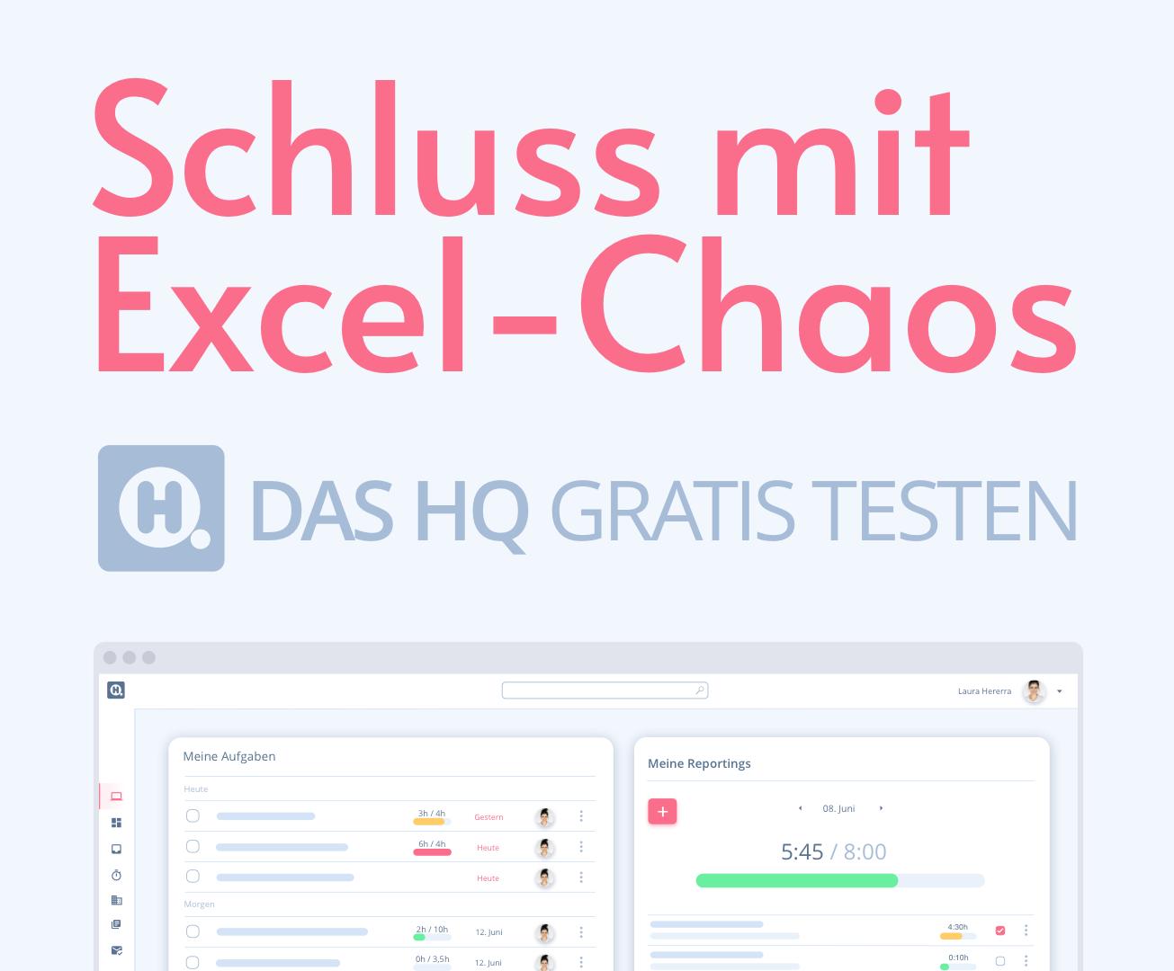 HQ - Schluss mit Excel-Chaos