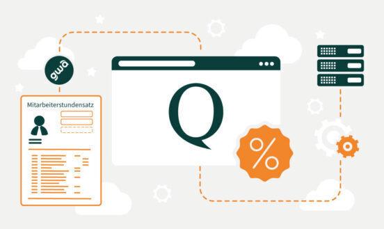 QuoJob – Mitarbeiter-Stundensatz, AZ-Modell und Controlling